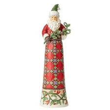 Making Spirits Splendid - Tall Santa with Branch