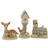 Woodland Mini Animal 3 Pc Set