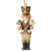 Black & Gold Nutcracker Ornament