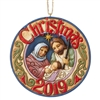 Holy Family Dated 2019 Ornament