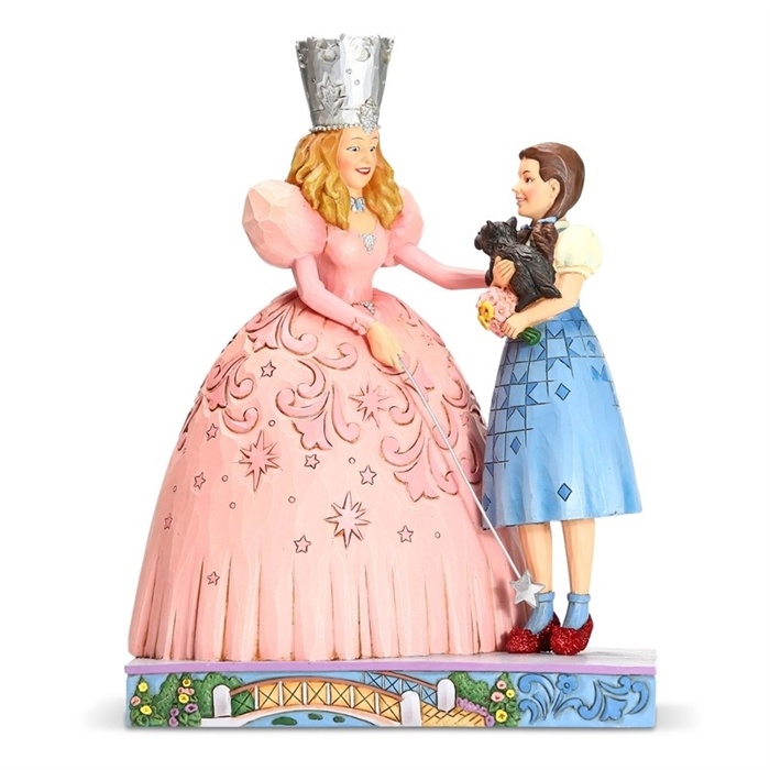 Glinda and Dorothy - The Gift of Ruby Slippers