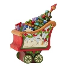 Tidings In Tow - Christmas Train Coal Car