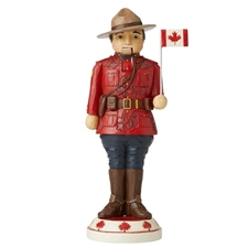 We Stand On Guard For Thee - Canadian Mountie Nutcracker