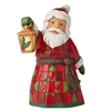 Santa With Lantern Mini Figure