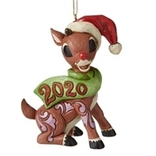 Rudolph Dated 2020 Ornament