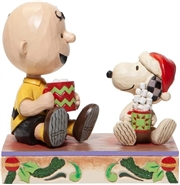 Hot Christmas Cocoa - Charlie Brown And Snoopy With Cocoa