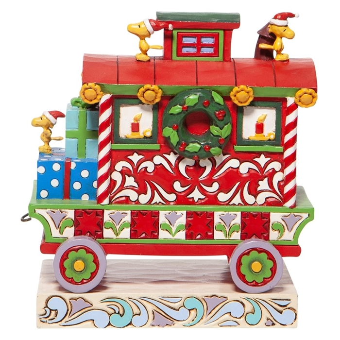 Christmas Caboose - Woodstock's Christmas Train Car