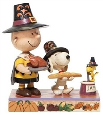 Thankful for Friendship - Thanksgiving Charlie Brown