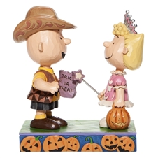 Trick or Treat - Charlie Brown And Sally