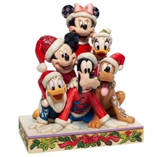 Piled High with Holiday Cheer - Christmas Mickey & Friends