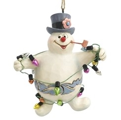 Frosty in Lights Ornament