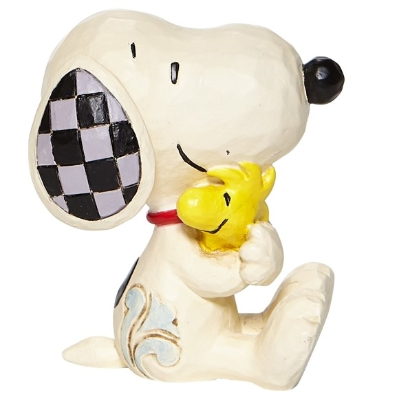 Mini Snoopy And Woodstock Hug