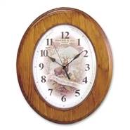 50 Years Of Progress - Wood Wall Clock