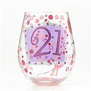Stemless Glass 21