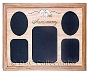 10th Anniversary Oak Wall Picture Frame