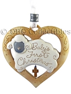 Baby's 1st Christmas - 2009 Dated Ornament