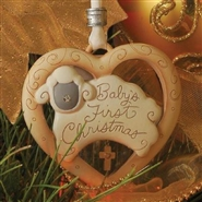 Baby's 1st Christmas - Dated 2011 Ornament