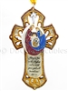 Holy Family Cross - Ornament