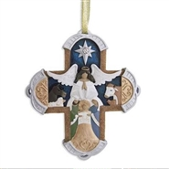 Craved Cross - Ornament