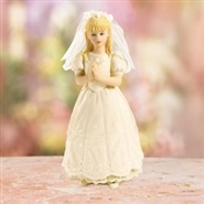 1st Communion Blonde Girl