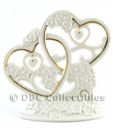 Lenox Floating Hearts Cake Topper