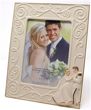 Happily Ever After Cinderella And Prince 5x7 Frame