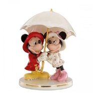 Mickey And Minnie Singing In The Rain