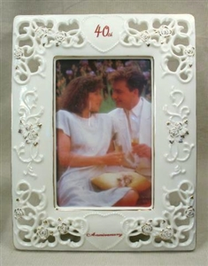 40th Anniversary Picture Frame