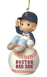 I Have A Ball With You - Boy Red Sox Ornament