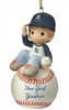 I Have A Ball With You - Boy Yankees Ornament