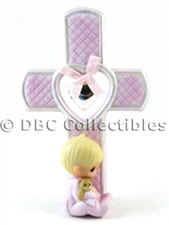 Patched With Love - Girl Locket Cross