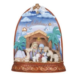 LED Nativity - Alleluia