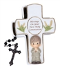 Blessings On Your First Holy Communion - Boy Covered Box with Rosary
