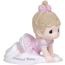 Precious Moments Growing In Grace - Precious Baby Brunette