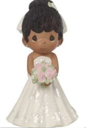 Bride - Black Hair, Dark Skin Tone