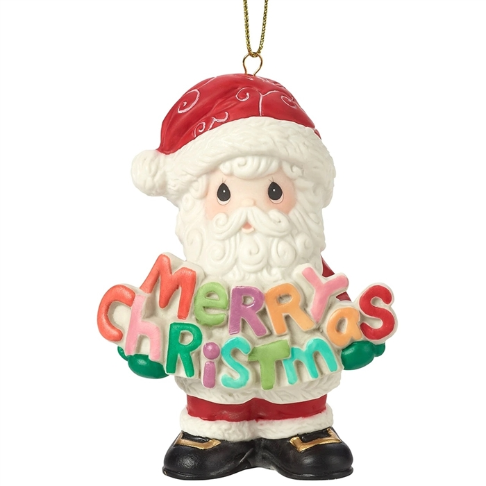 Merry Christmas To All 11th Annual Santa Series Ornament