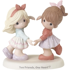 Precious Moments | Two Friends, One Heart 192001 | DBC Collectibles
