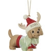 Dachshund Through The Snow - Dated 2020 Dog Ornament