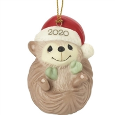 Sending Hedge Hugs - Dated 2020 Animal Ornament