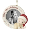 Baby's First Christmas Photo Frame