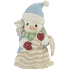 Peace On Earth - 11th In Annual Snowman Series Figure