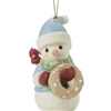 Peace On Earth - 11th In Annual Snowman Series Ornament