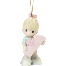 You're Awesome - Blonde, Girl Ornament
