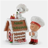 Snoopy's Gingerbread House