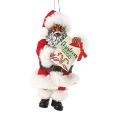 Dated 2020 Hanging Christmas Ornament AA