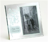 50th Glass Anniversary Photo Frame