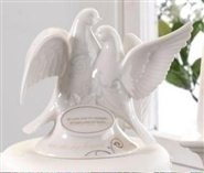 Scroll Dove Cake Topper