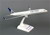SkyMarks Airplane Model - United 767-300ER 1/150 Post Co Merger Livery