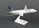 SkyMarks Airplane Model - United Airlines B787-8 1/200