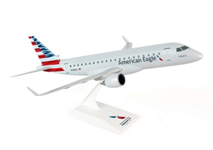 SkyMarks Airplane Model - American Eagle ERJ175 1/100 New Livery Republic